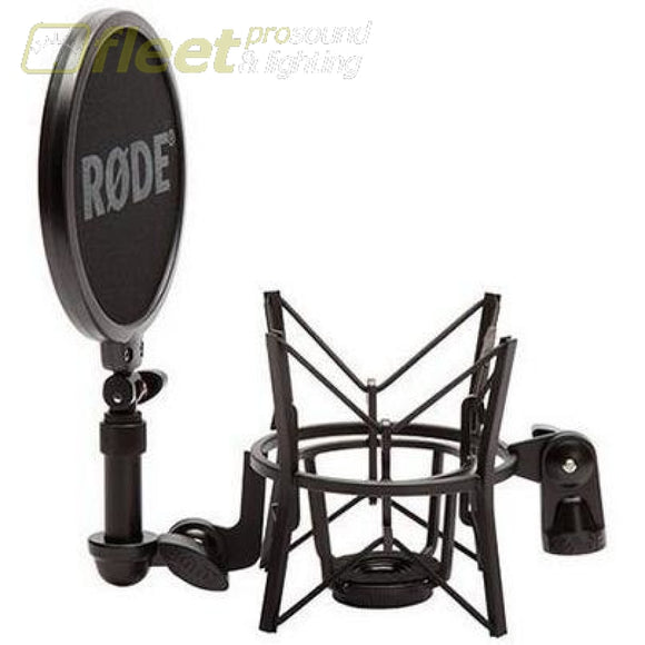 Rode Sm6 Shock Mount And Pop Filter For Mics Pop Filters