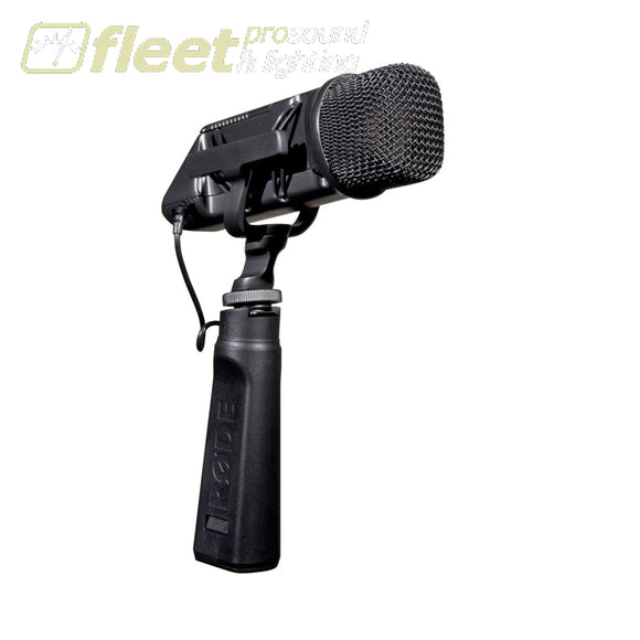 Rode STEREO VIDEOMIC Stereo On-camera Condenser Microphone VOCAL MICS