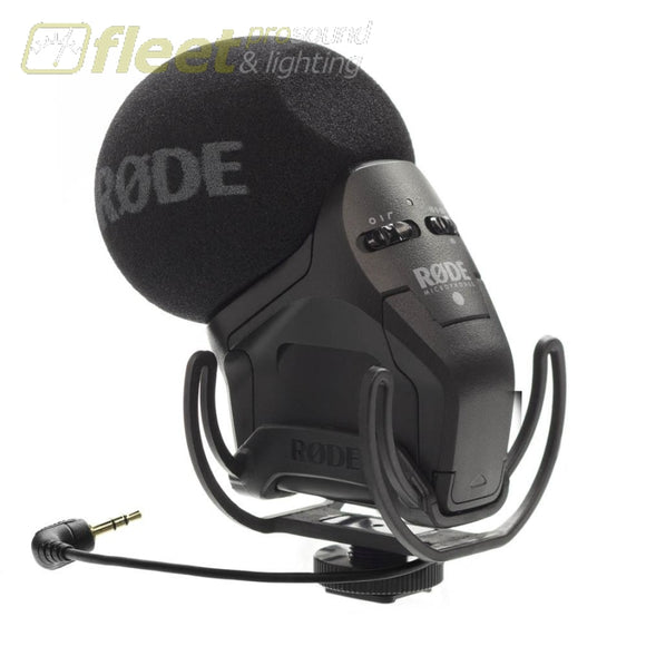 Rode STEREO VIDEOMIC PRO XY Stereo Condenser Microphone CONDENSER MICROPHONE