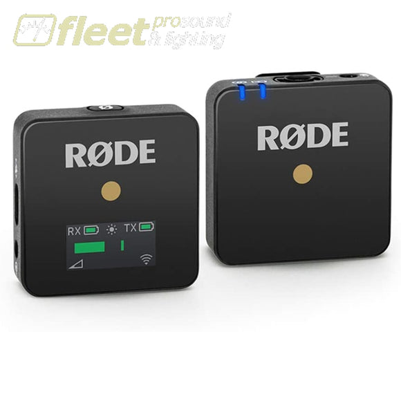 Rode WIRELESS GO Digital Wireless Microphone System - Black CAMERA MOUNT WIRELESS SYSTEMS