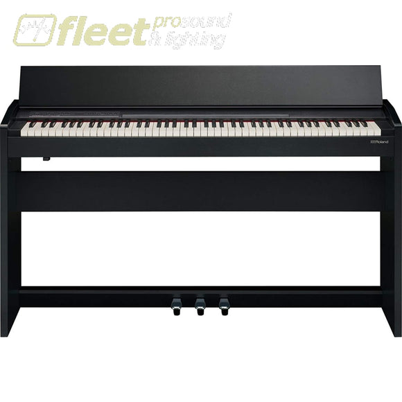 Roland F-140R-CB Compact 88-key Digital Piano with Built-In Speaker - Black DIGITAL PIANOS