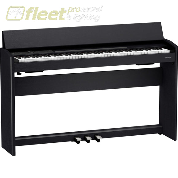 ROLAND F701-CB DIGITAL PIANO WITH BENCH - CONTEMPORARY BLACK DIGITAL PIANOS