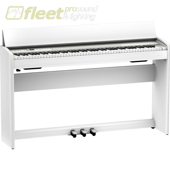 ROLAND F701-CB DIGITAL PIANO WITH BENCH - WHITE DIGITAL PIANOS