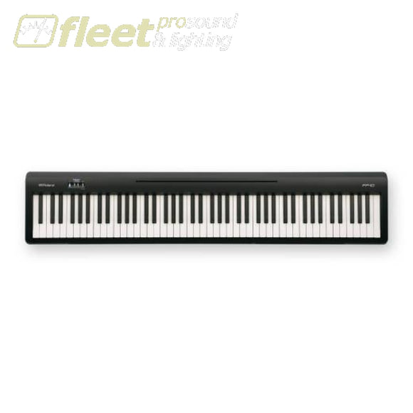 Roland FP-10-BK Portable Digital Piano w/Speakers - Black INCLUDES HDS-100 Headphones DIGITAL PIANOS
