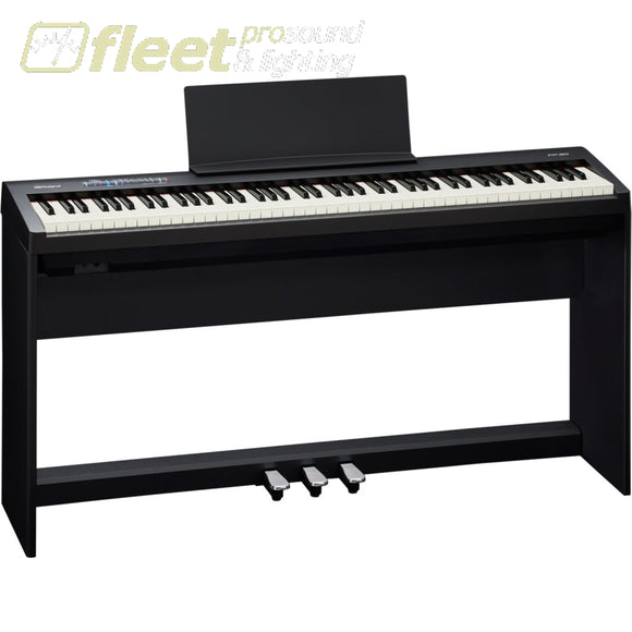 Roland FP-30 - Digital Piano (Black) with Pedal and stand DIGITAL PIANOS