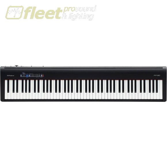 Roland FP-30 - Digital Piano (Black) with Pedal and Bench DIGITAL PIANOS