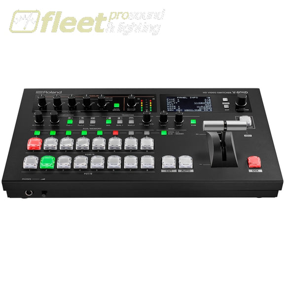Roland V-60HD 6-Channel Video Switcher VIDEO SWITCHERS