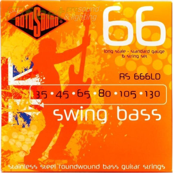 Rotosound Swing Bass Rs666Ld Bass Strings