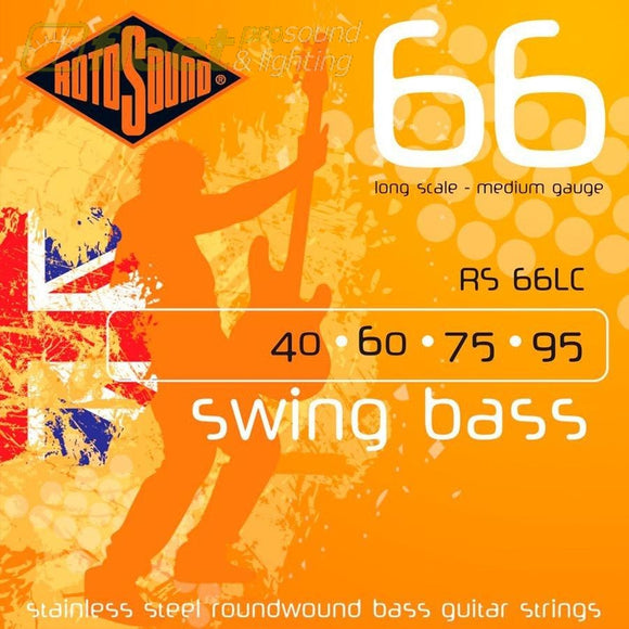 Rotosound Swing Bass Rs66Lc Bass Strings