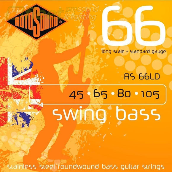 Rotosound Swing Bass Rs66Ld Bass Strings