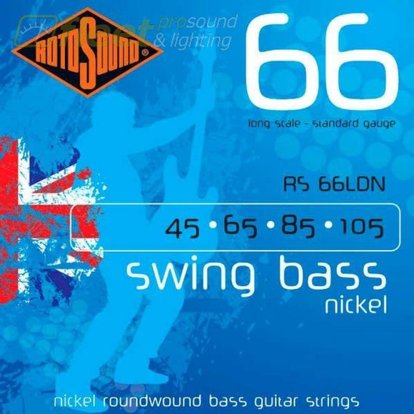 Rotosound Swing Bass Rs66Ldn Bass Strings