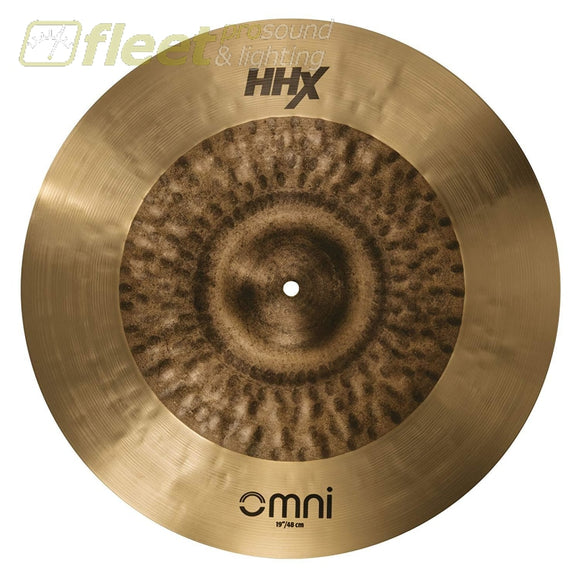 Sabian 119Omx 19 Hhx Ride Cymbal Ride Cymbals