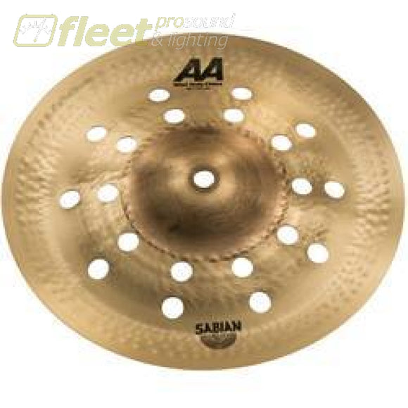 Sabian 21016CS 10 AA Mini Holy China Natural Finish Cymbal CHINA CYMBALS