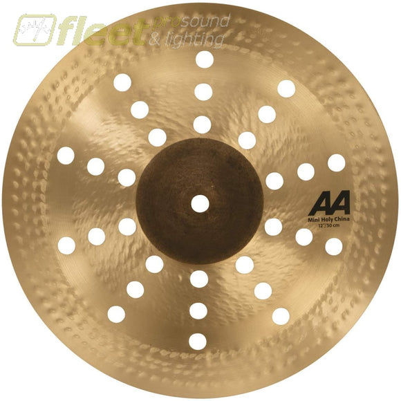 Sabian 21216CS 12 AA Mini Holy China Cymbal - Natural Finish CHINA CYMBALS