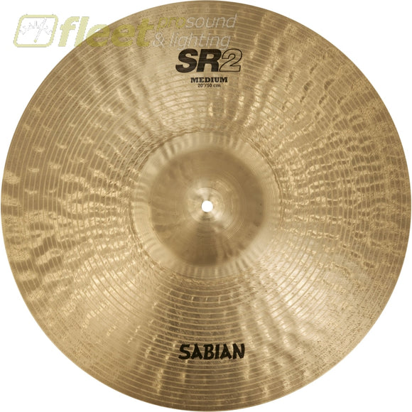 Sabian SR20M SR2 20 Medium Ride Cymbal RIDE CYMBALS
