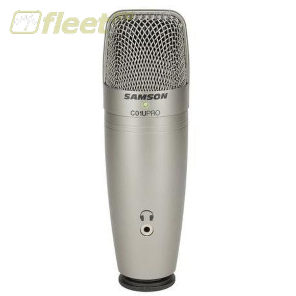 Samson C01U-Pro Usb Mic With Headphone Amp Mics