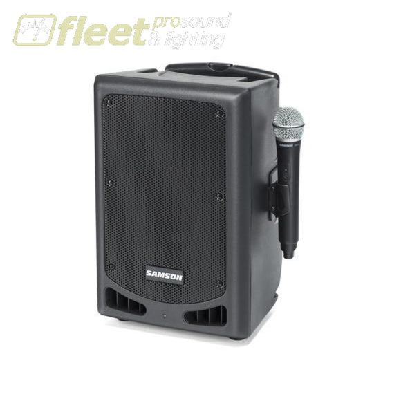 Samson Expedition XP208W - Rechargeable Portable PA with Handheld Wireless System and Bluetooth PORTABLE SOUND SYSTEMS