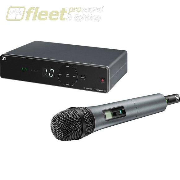 Sennheiser XSW 1-835-A UHF Vocal Set with e835 Dynamic Microphone HAND HELD WIRELESS SYSTEMS