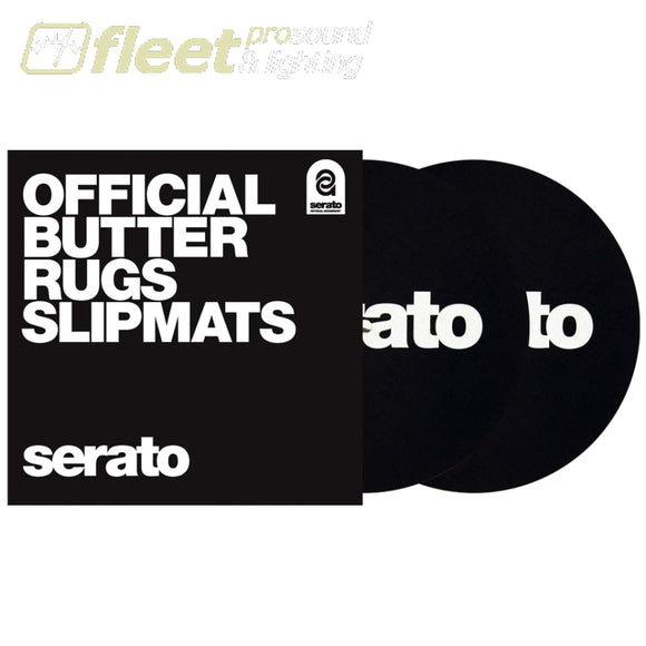Serato OSA-SM-BLK-B7 7' Butter Rug SlipMat - Black TURNTABLE ACCESSORIES