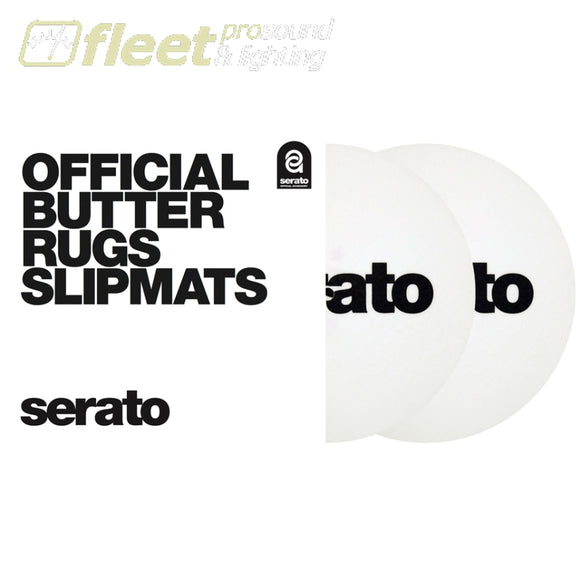 Serato OSA-SM-WHT-B7 7' Butter Rug SlipMat - White TURNTABLE ACCESSORIES