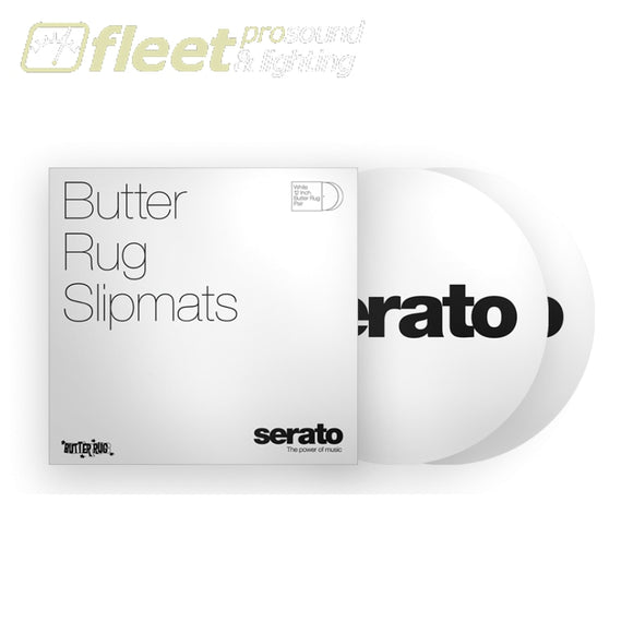 Serato OSA-SM-WHT-BR 12 ButterRug SlipMat - White TURNTABLE ACCESSORIES