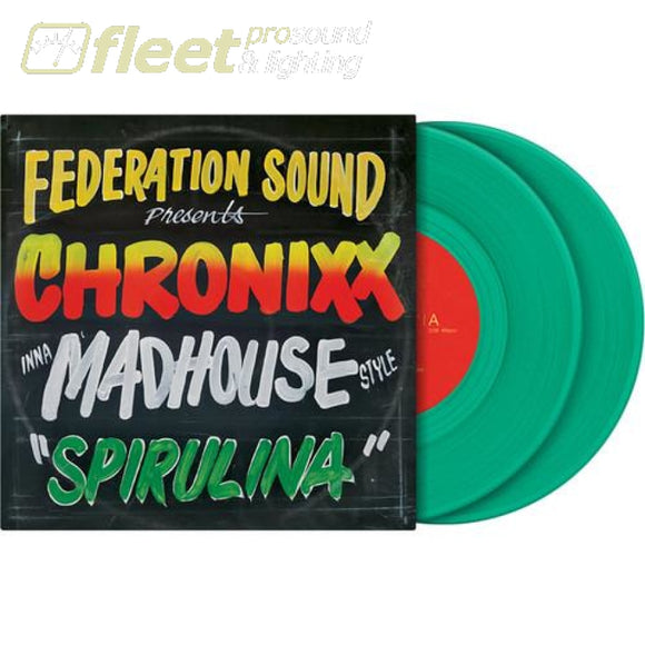 Serato SCV-SP-066-FS Limited Edition CHRONIXX inna MADHOUSE Style Control Vinyl DIRECT DRIVE TURNTABLES