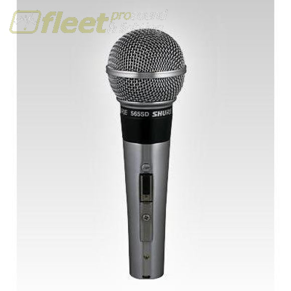 Shure 565SD-LC Dynamic Microphone High or Low Z On/Off Switch VOCAL MICS