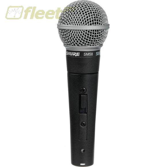 Shure SM58S Vocal Microphone with On/Off Switch VOCAL MICS