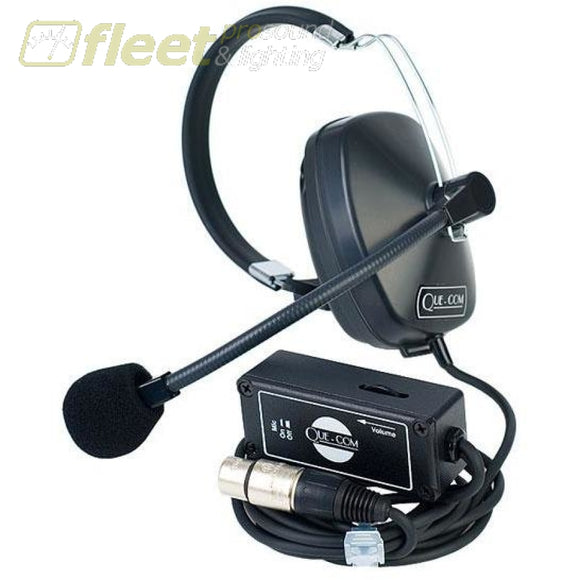 Single Muff Comm Headset With Beltpack Communications