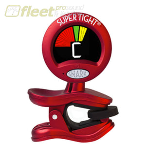 Snark St-2 Clip On Tuner - Red - All Instrument - Super Tight Tuners