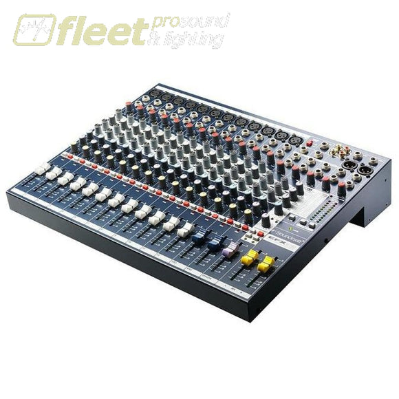 Soundcraft Efx12 14 Channel Mixer Mixers Under 24 Channel