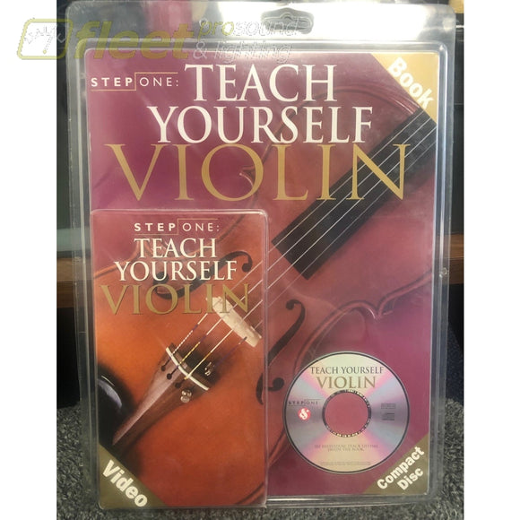 Step One Teach Yourself Violin DVD VHS & Book INSTRUCTIONAL DVDS