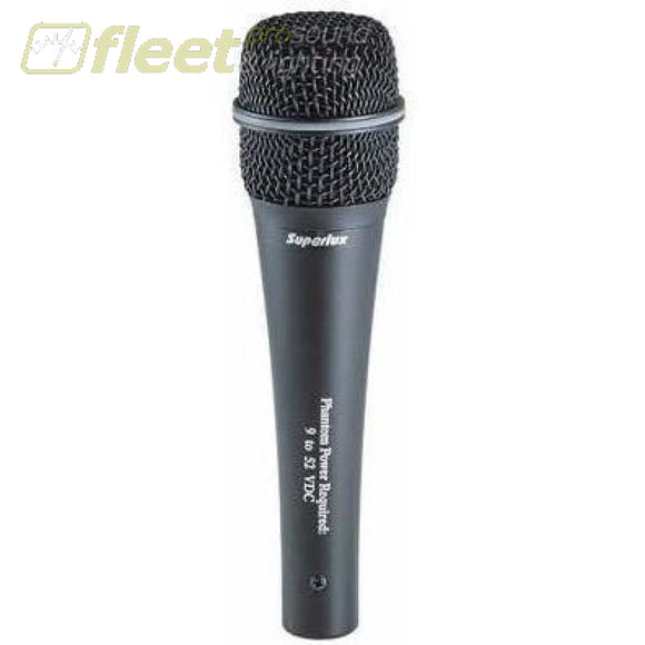Superlux Pra238B Supercardioid Condenser Vocal Microphone Vocal Mics