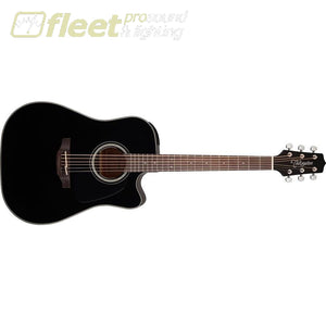 Takamine Gd30Ce-Blk Dreadnought Cutaway Acoustic-Electric Guitar 6 String Acoustic With Electronics