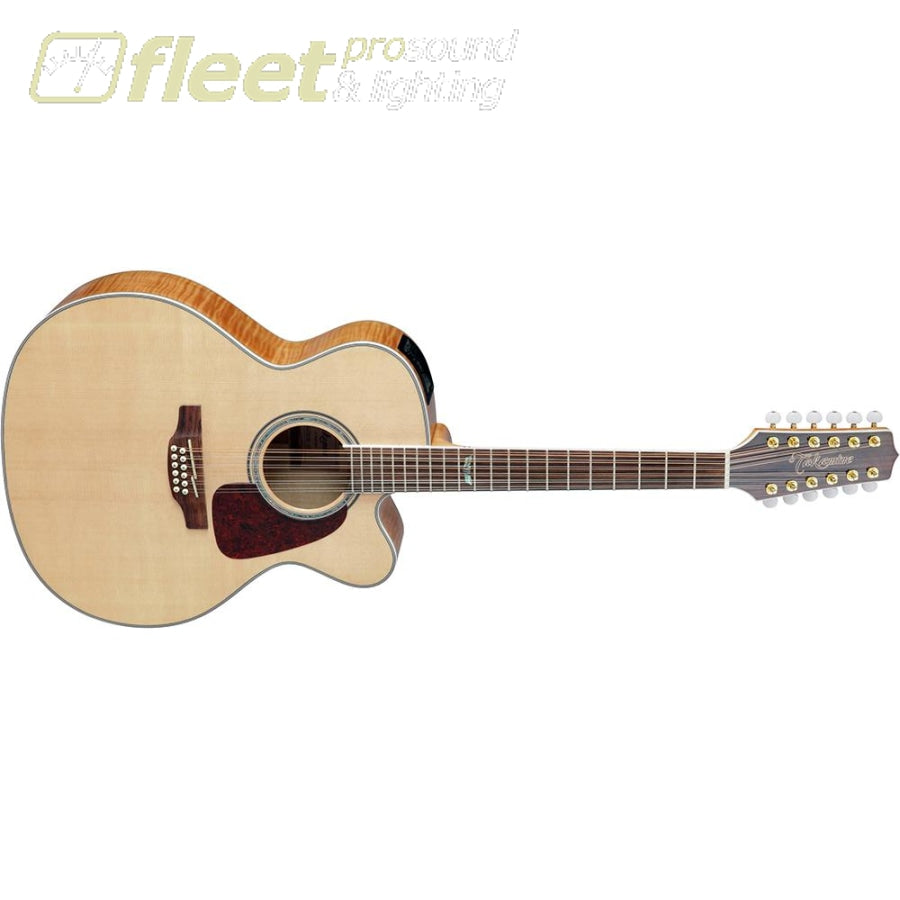 takamine gj72ce 12nat jumbo 12 string acoustic electric guitar natura fleet pro sound. Black Bedroom Furniture Sets. Home Design Ideas