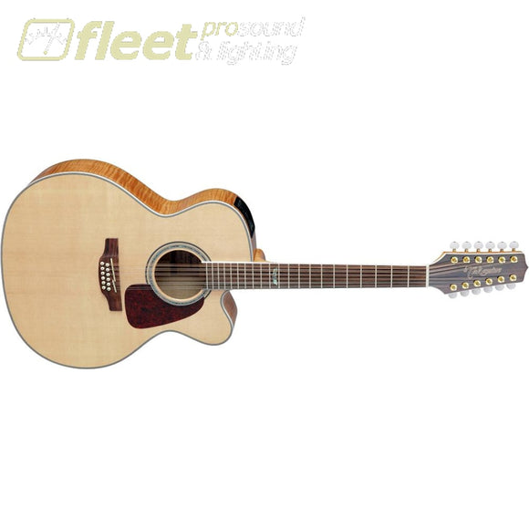 Takamine Gj72Ce-12Nat Jumbo 12-String Acoustic/electric Guitar (Natural) 12 String Acoustics