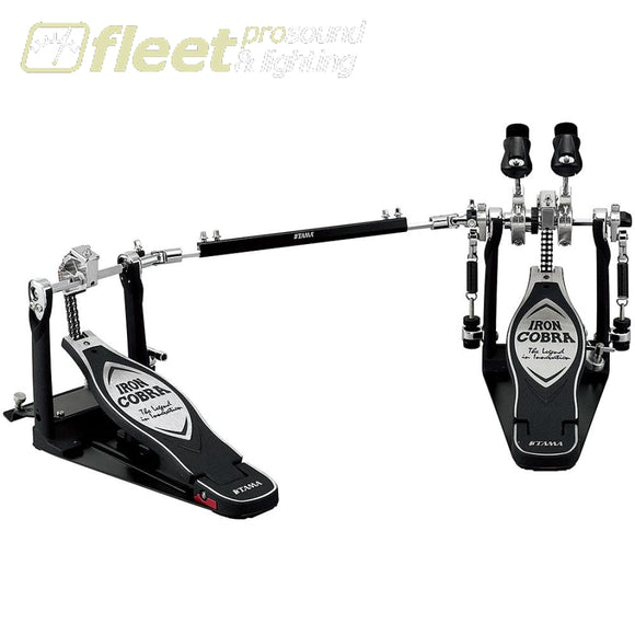 Tama Hp900Pwn Iron Cobra Power Glide Double Bass Pedal Kick Drum Pedals