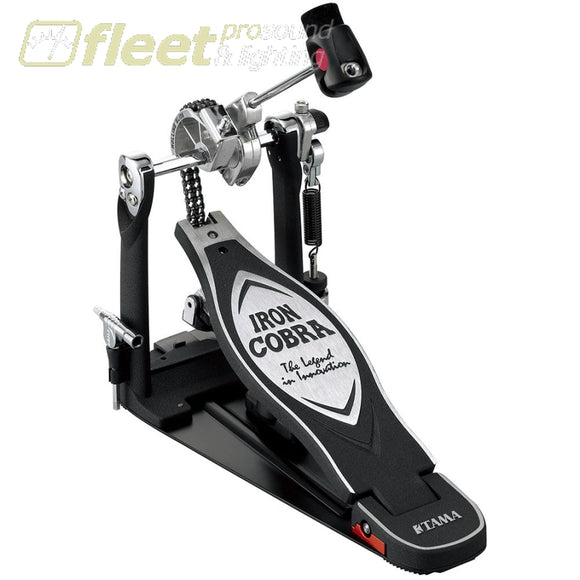 Tama Hp900Rn Iron Cobra 900 Rolling Glide Single Bass Pedal Kick Drum Pedals