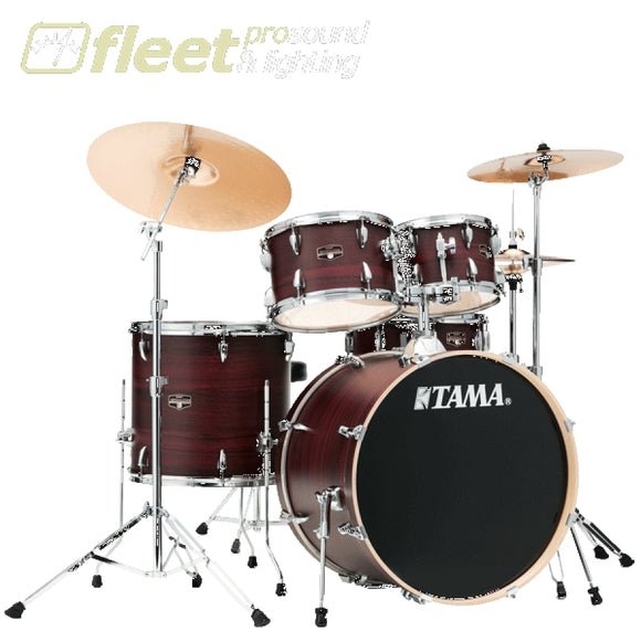 Tama IE50H6W-BWW Imperial Star 5-Piece Drum Kit - Burgundy Walnut Wrap ACOUSTIC DRUM KITS