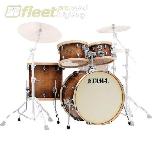 Tama Lmp42Rtls-Gse S.l.p. Studio Maple 4-Piece Drum Set Shell Pack Acoustic Drum Kits