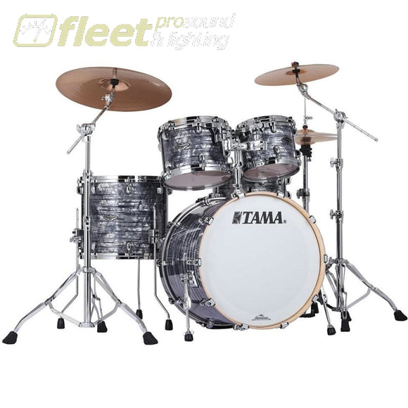 Tama Pr42S-Cco Starclassic Performer B/b 4 Piece Shell Kit - Charcoal Onyx Acoustic Drum Kits