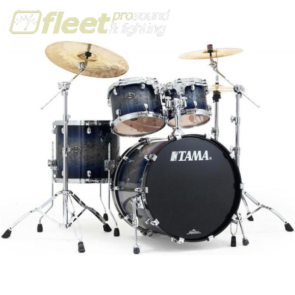 Tama Ps42Ssig Starclassic Performer B/b 4 Piece Shell Kit - Smoky Indigo Burst Acoustic Drum Kits