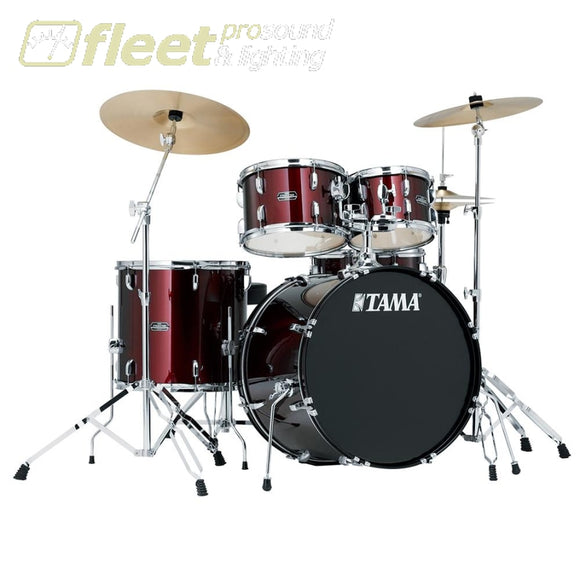 Tama Sg52Kh6C-Wr Stagestar 5Pce W/cymbal Pack And Hardware Acoustic Drum Kits