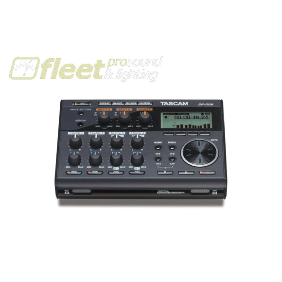 Tascam DP-006 Digital Pocketstudio 6-Track Recorder MULTI TRACK RECORDERS