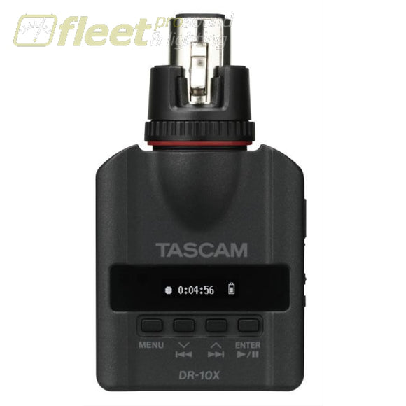 Tascam DR-10X Micro Linear PCM Recorder PORTABLE RECORDERS
