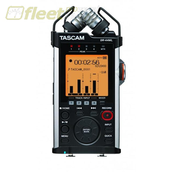 Tascam DR-44WL Groundbreaking Four-Track Recorder PORTABLE RECORDERS