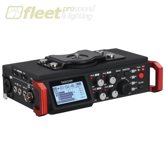 Tascam DR-701D The Ultimate Portable Audio System for Video Production PORTABLE RECORDERS