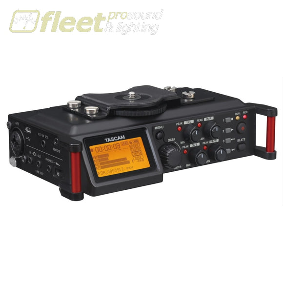 Tascam DR-70D 6-Track Portable Recorder for DSLR PORTABLE RECORDERS