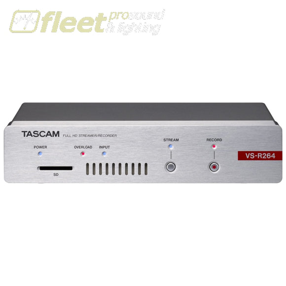 Tascam VS-R264 AV Over IP Encoder and Decoder Appliance for Full HD Live Streaming VIDEO RECORDER