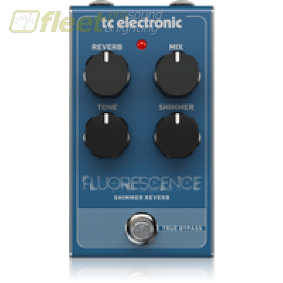 Tc Electronic Fluorescence Reverb Effect Pedal Guitar Reverb Pedals